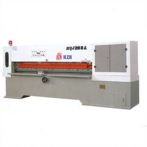 hydraulic veneer clipper