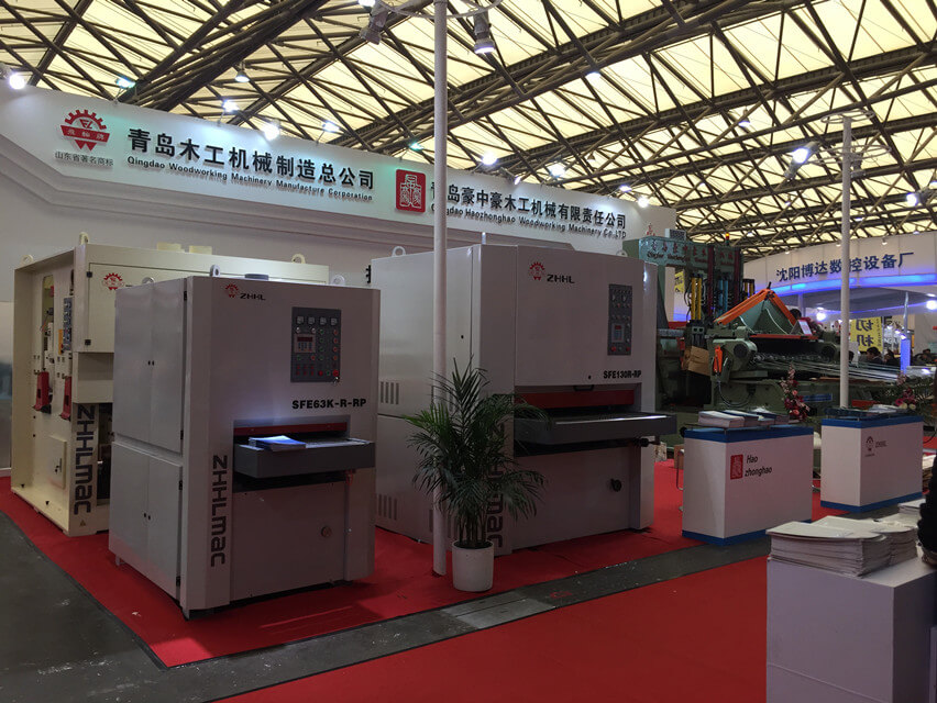 2017 Guangzhou Exhibtion-Haozhonghao Woodworking Machinery