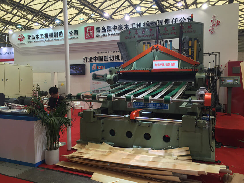 2017 Shanghai Exhibition-Haozhonghao Woodworking Machinery