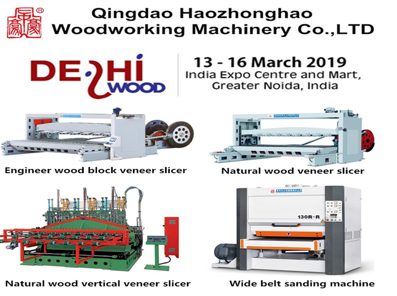 We Will Attend 2019 03 13 Delhi Wood Exhibition - Qingdao