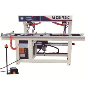 Multi row boring machine