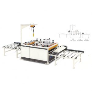Paper PVC sticking machine