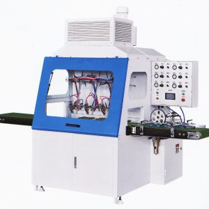 Profile spray machine