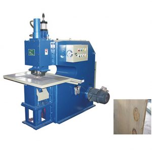 Veneer patching machine