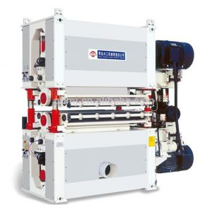 double side Wide belt sander machine