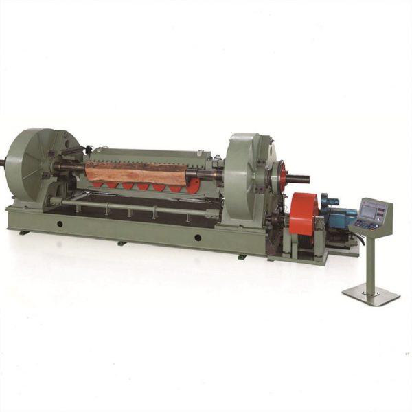 half round peeling machine