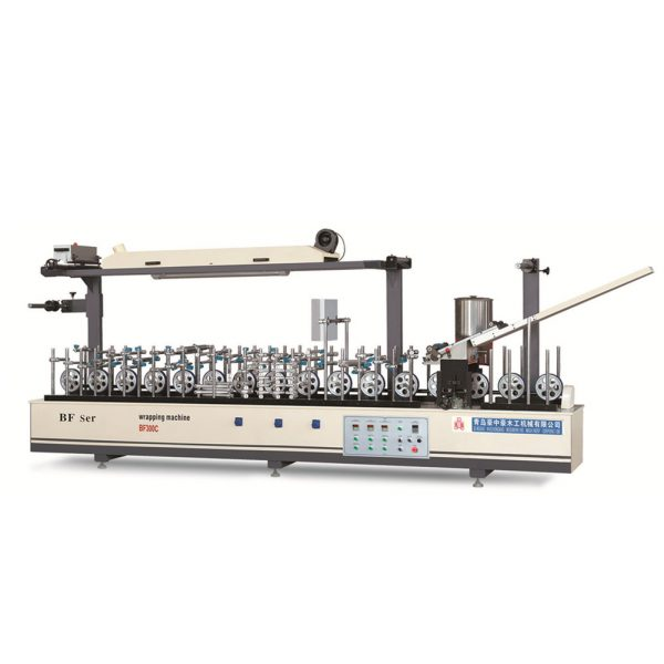 Profile wrapping machine