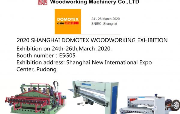 2020.03.24 SHANGHAI DOMOTEX WOODWORKING EXHIBITION