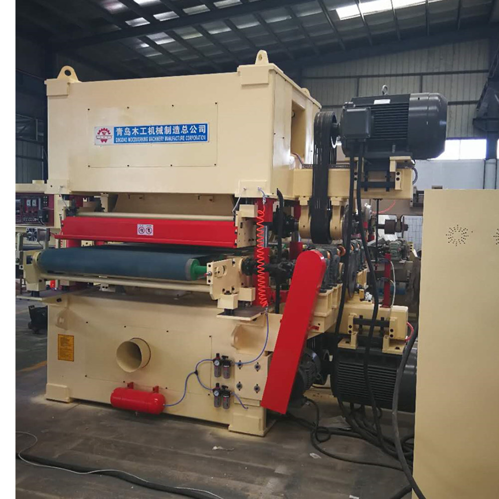 Double Side Wide Belt Sanding Machine Mm5613 Qingdao